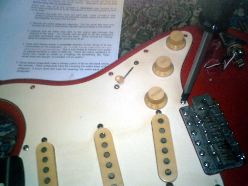Squier Stratocaster Wiring Diagram